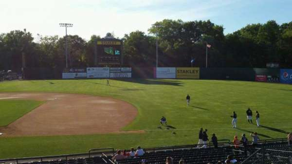 New Britain Stadium, section: 202, row: H, seat: 12