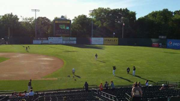New Britain Stadium, section: 202, row: H, seat: 1