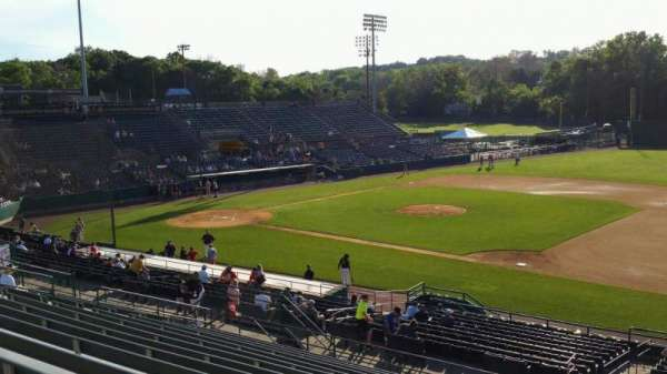 New Britain Stadium, section: 202, row: P, seat: 1