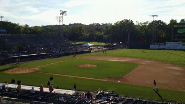 New Britain Stadium, section: 202, row: P, seat: 11
