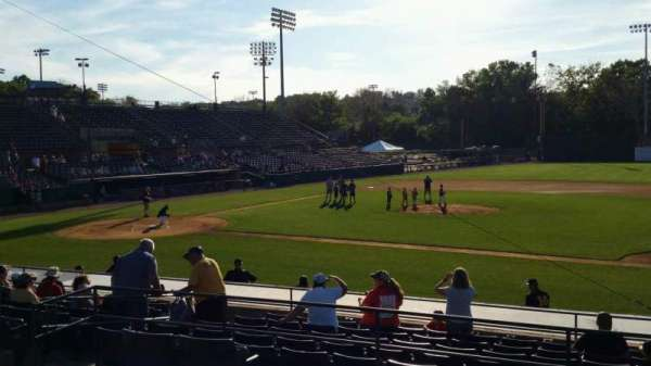 New Britain Stadium, section: 203, row: A, seat: 9