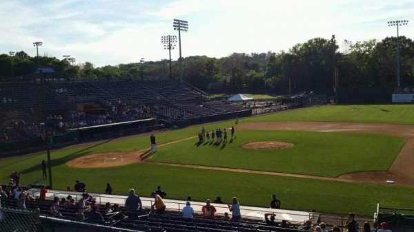 New Britain Stadium, section: 203, row: K, seat: 1