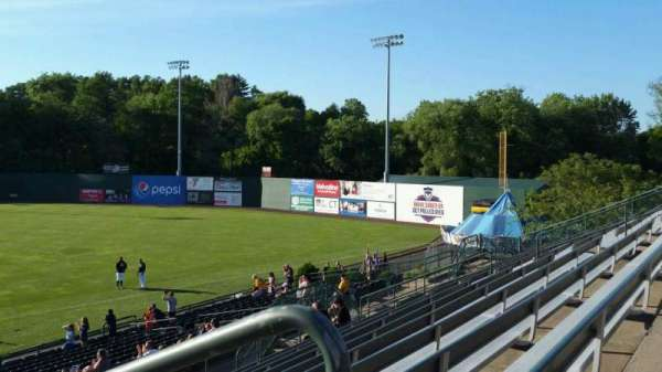 New Britain Stadium, section: 203, row: K, seat: 1