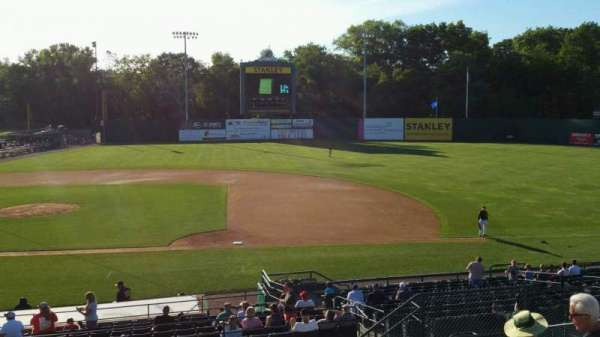 New Britain Stadium, section: 203, row: K, seat: 10