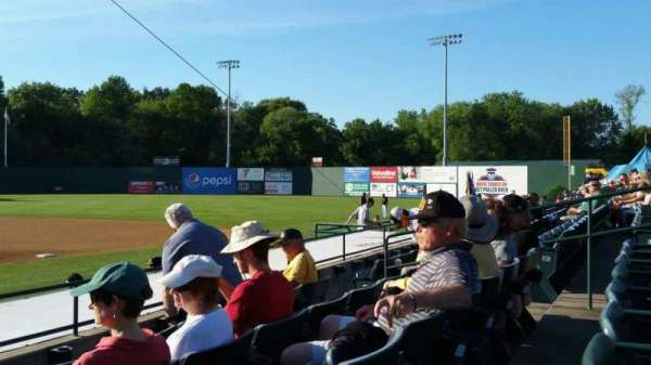 New Britain Stadium, section: 105, row: G, seat: 11