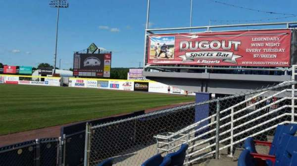 NYSEG Stadium, section: 18, row: E, seat: 5