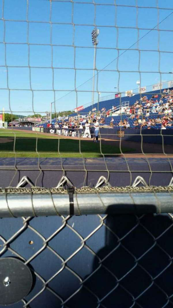 NYSEG Stadium, section: 3, row: A, seat: 8