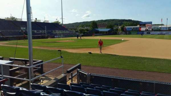 NYSEG Stadium, section: 14, row: H, seat: 6