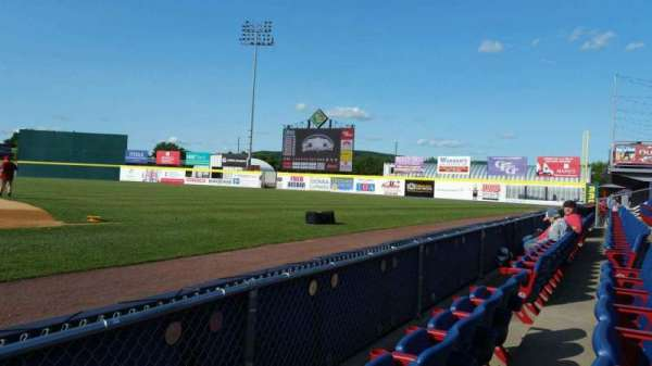NYSEG Stadium, section: 14, row: B, seat: 1