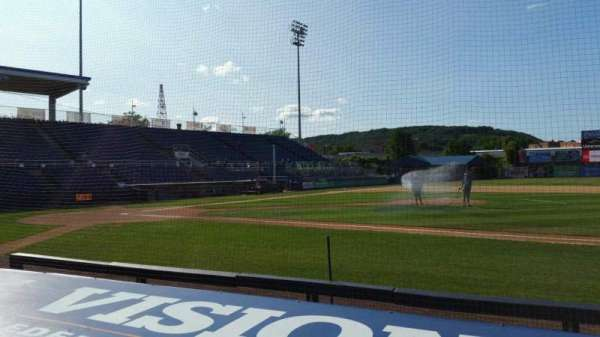 NYSEG Stadium, section: 10, row: F, seat: 16