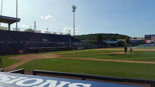 NYSEG Stadium, section: 10, row: F, seat: 9