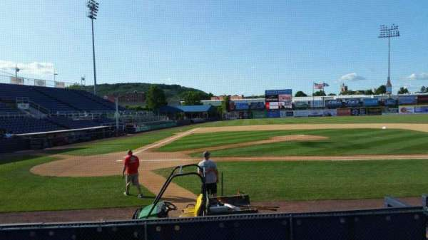 NYSEG Stadium, section: 8, row: J, seat: 1