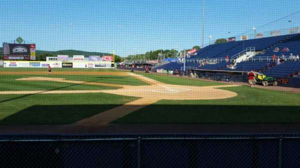NYSEG Stadium, section: 5, row: F, seat: 10