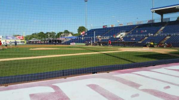 NYSEG Stadium, section: 9, row: D, seat: 16