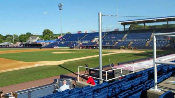 NYSEG Stadium, section: 13, row: J, seat: 10