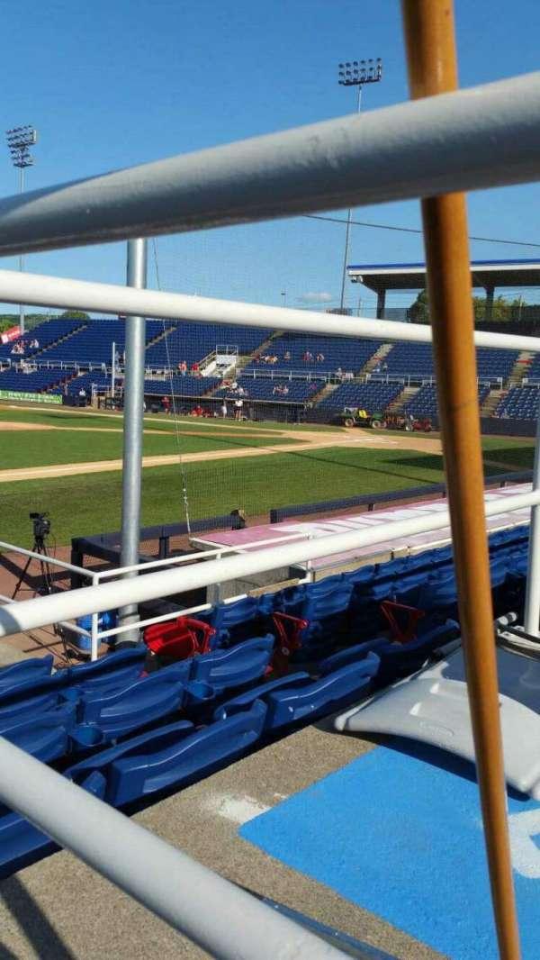 NYSEG Stadium, section: 13, row: J, seat: 6