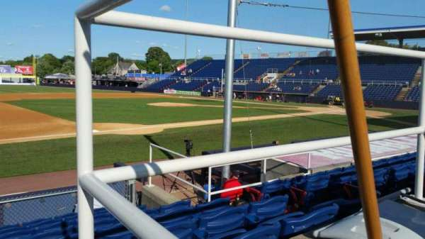 NYSEG Stadium, section: 13, row: J, seat: 6