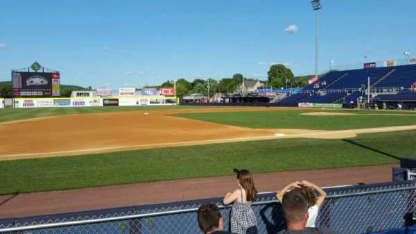 NYSEG Stadium, section: 13, row: E, seat: 10