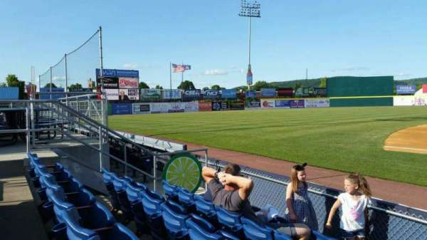 NYSEG Stadium, section: 13, row: E, seat: 1