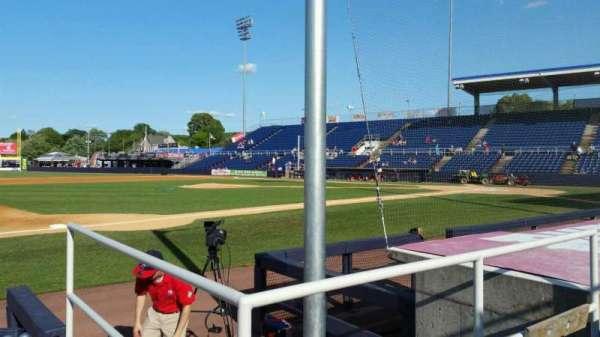 NYSEG Stadium, section: 13, row: E, seat: 1