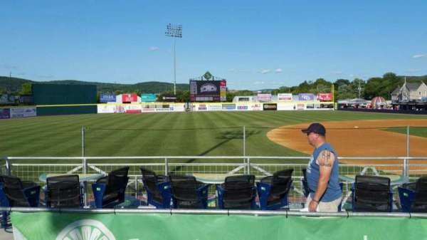 NYSEG Stadium, section: 113, row: M, seat: 1