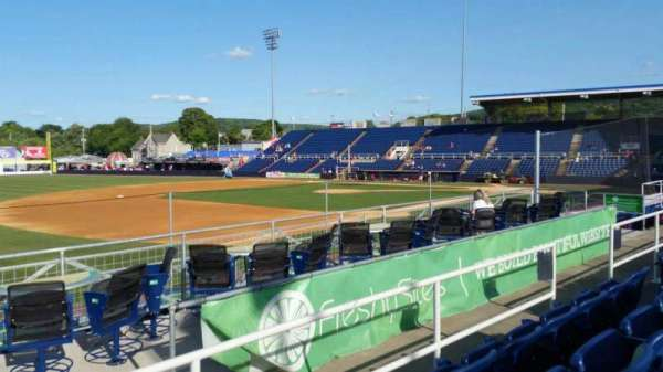 NYSEG Stadium, section: 113, row: M, seat: 11