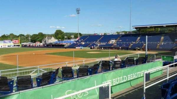 NYSEG Stadium, section: 113, row: M, seat: 6