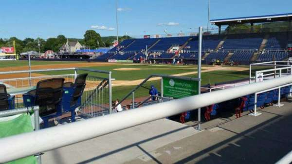 NYSEG Stadium, section: 111, row: K, seat: 12