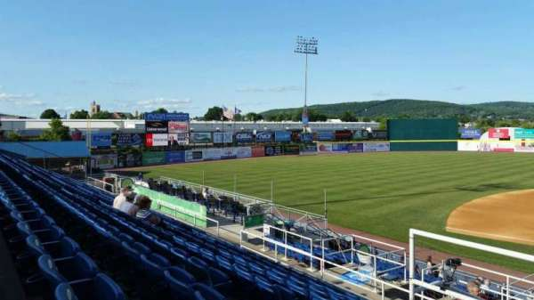 NYSEG Stadium, section: 109, row: T, seat: 1
