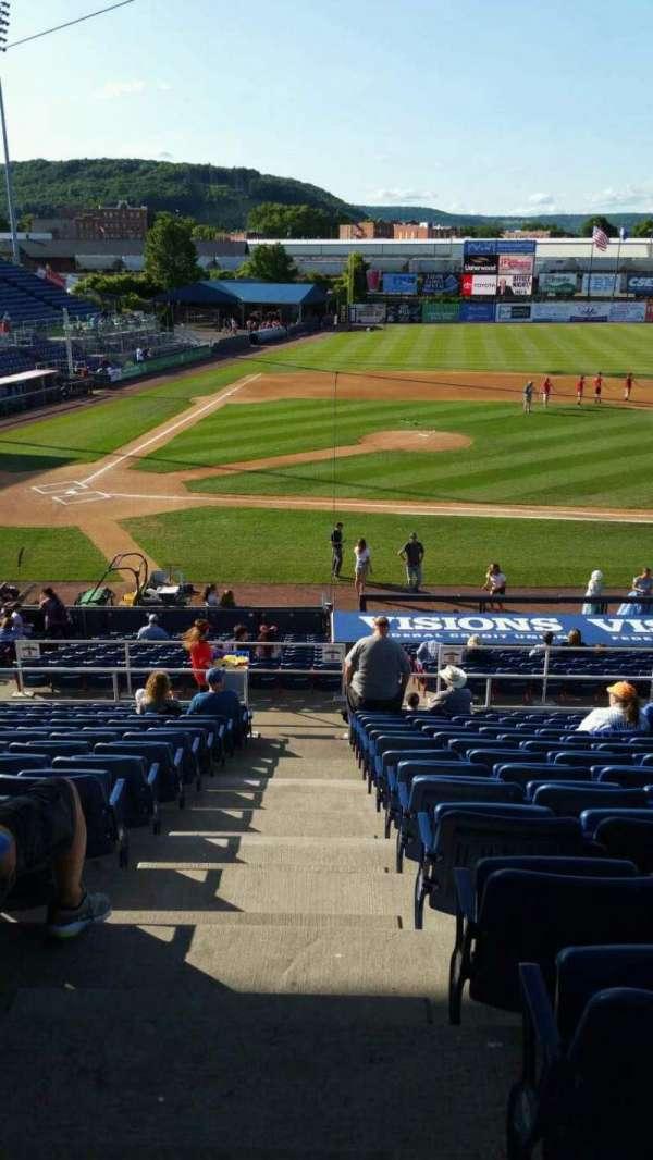 NYSEG Stadium, section: 106, row: Z, seat: 24