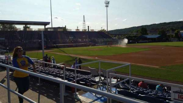 NYSEG Stadium, section: 112, row: L, seat: 22