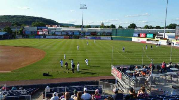 NYSEG Stadium, section: 114, row: X, seat: 1