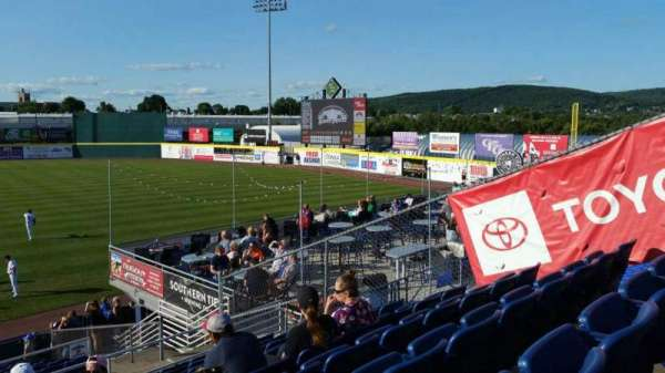 NYSEG Stadium, section: 114, row: U, seat: 1