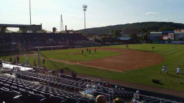 NYSEG Stadium, section: 114, row: U, seat: 5