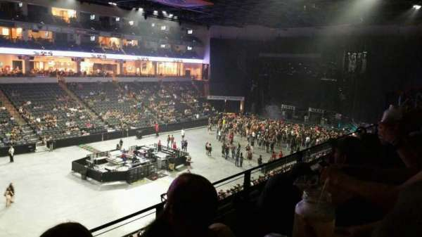 PPL Center, section: 206, row: 2, seat: 13