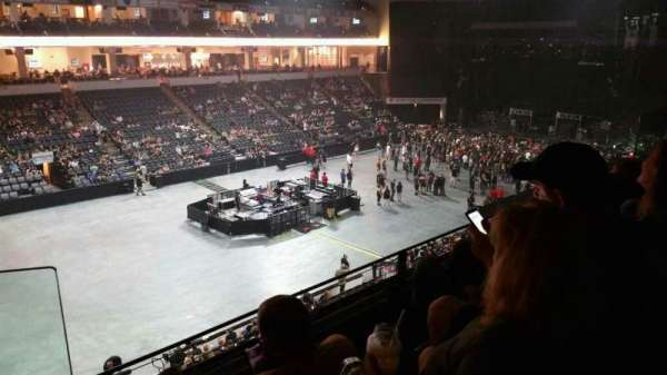 PPL Center, section: 206, row: 3, seat: 13