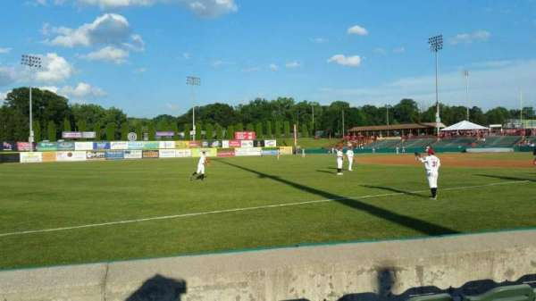 Joseph L. Bruno Stadium, section: 290, row: D, seat: 16