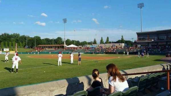 Joseph L. Bruno Stadium, section: 290, row: D, seat: 6