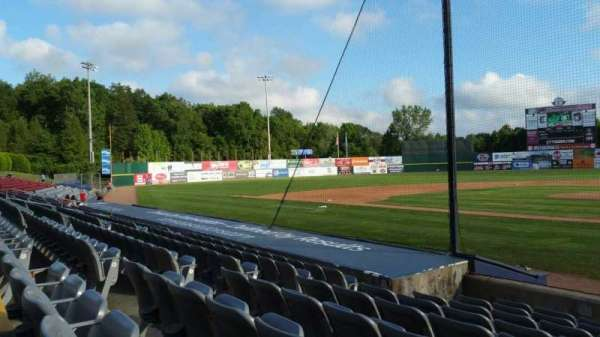 Dodd Stadium, section: 13, row: G, seat: 5
