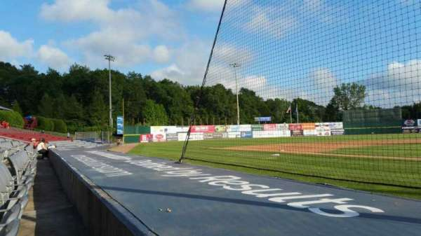 Dodd Stadium, section: 14, row: A, seat: 1