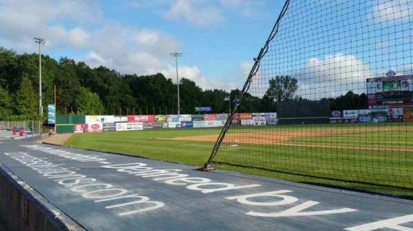Dodd Stadium, section: 14, row: A, seat: 7