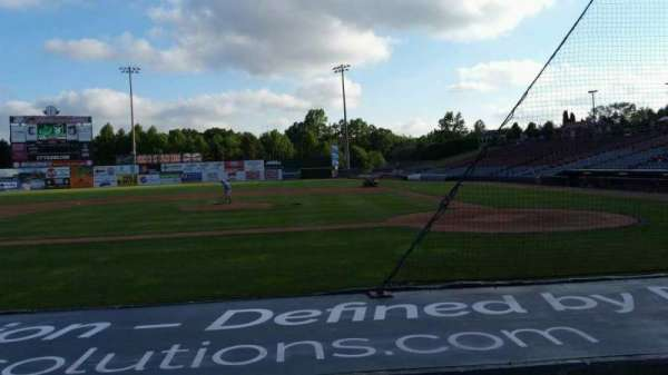 Dodd Stadium, section: 15, row: D, seat: 1