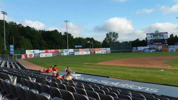 Dodd Stadium, section: 16, row: H, seat: 1