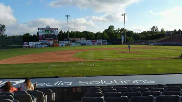 Dodd Stadium, section: 16, row: H, seat: 12