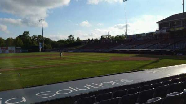 Dodd Stadium, section: 17, row: E, seat: 1