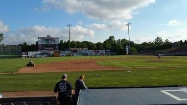 Dodd Stadium, section: 17, row: E, seat: 12