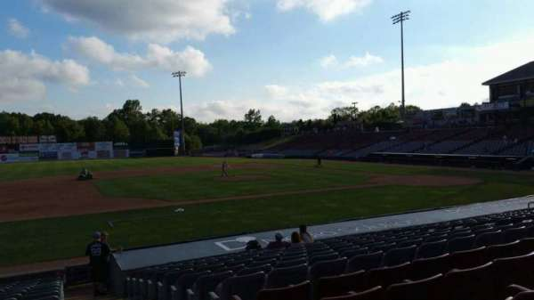 Dodd Stadium, section: 18, row: N, seat: 1