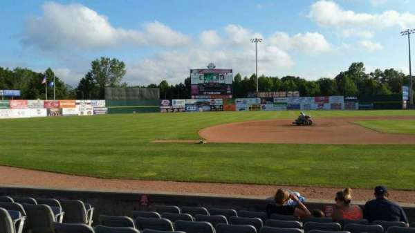 Dodd Stadium, section: 18, row: D, seat: 8