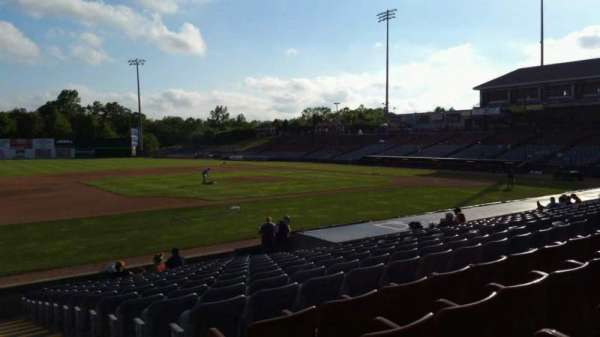 Dodd Stadium, section: 19, row: M, seat: 1