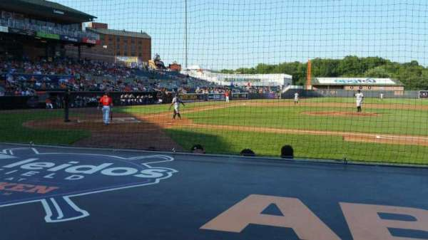 Ripken Stadium, section: 109, row: A, seat: 3